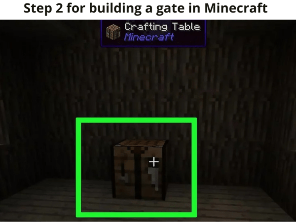 how to build stone gate in minecraf